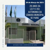 Câmara comemora 28 anos de autonomia político-administrativa