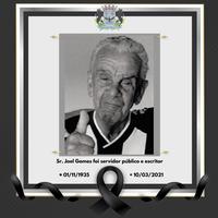 Nota de pesar pelo falecimento de Joel Gomes, pai do prefeito Marco Aurélio