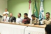 Olho Vivo, Comando da PM e Banco do Brasil são temas de reunião